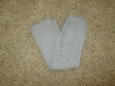 GIrl's long grey thick cotton pant