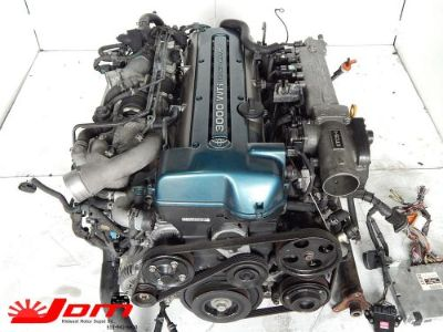 Purchase JDM TOYOTA ARISTO 2JZ-GTE VVTI COMPLETE ENGINE AUTOMATIC SWAP LEXUS GS300 IS300 motorcycle in Fairfield, Ohio, United States, for US $2,199.99