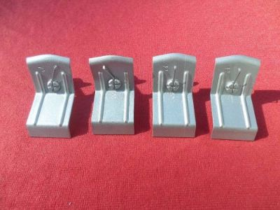 Purchase 1960 Chevrolet Impala Bel Air Biscayne El Camino Airplane Molding Clips (4) 60 motorcycle in Wisconsin Rapids, Wisconsin, United States, for US $110.00
