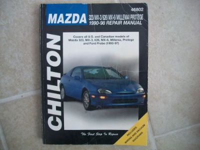 Find Chilton Books 46802 Repair Manual MAZDA 323 MX-3 626 MX-6 MILLENIA PROTEGE 93-97 motorcycle in Golden Valley, Arizona, United States, for US $9.44