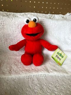 Stuffed Elmo. Approx 12 inches high.