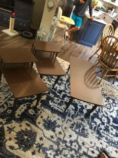 Mid-Century Coffee & End Tables
