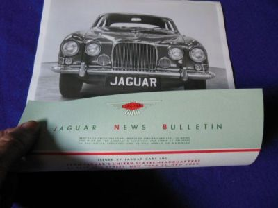 Buy Original Jaguar Mark X (10) Introductory Factory Press Photo with Release motorcycle in North Haven, Connecticut, United States