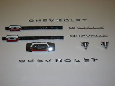 Sell 64 El Camino Emblem Kit motorcycle in Placentia, California, United States