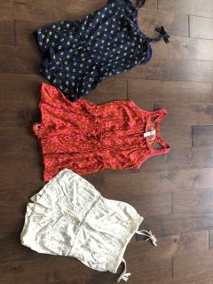 Lot of Girls Rompers - size 7/8