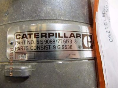 Purchase NEW OEM CATERPILLAR 24V 50A ALTERNATOR 5S9088 / 7T6173 NO-BOX motorcycle in Novi, Michigan, United States, for US $175.00