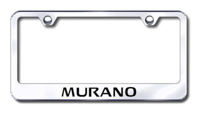 Find Nissan Murano Engraved Chrome License Plate Frame Made in USA Genuine motorcycle in San Tan Valley, Arizona, US, for US $30.98