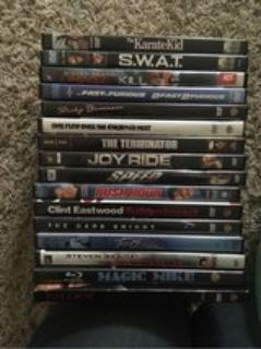 dvds $1 each or $15 for all