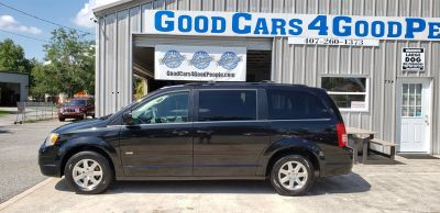 2008 Chrysler Town & Country Touring (Black)