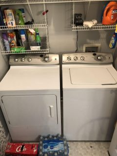 GE Profile Washer and Dryer $350