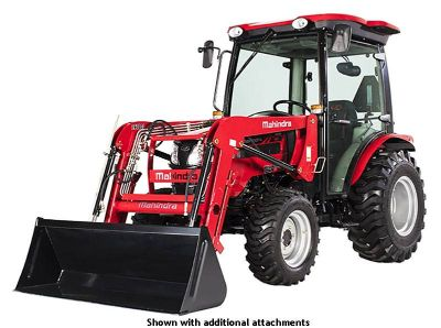 2018 Mahindra 2638 HST Cab Compact Tractors Evansville, IN