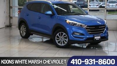 2016 Hyundai Tucson SE (Caribbean Blue)