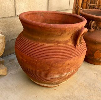 Nice Terra Cotta Planter French Valley
