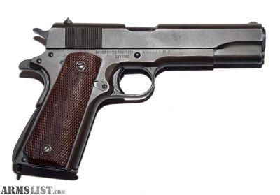For Sale: Remington Rand M1911 A1