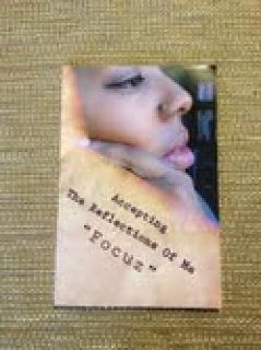 "$11 Poetry Book ""Accepting The Reflections Of Me"""