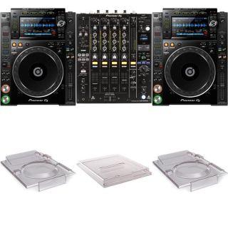 Pioneer DJ - CDJ 900NXS and Pioneer DJ - DJM 900NXS2 with Fr