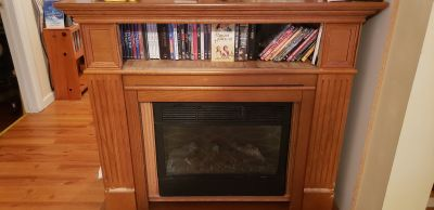 Electric Fireplace w/ Heating Element