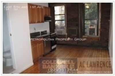 East Village Absolutely Affordable 1-bedroom With Exposed Brick , Low Walk-up