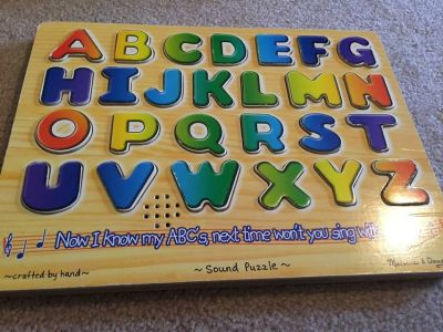 Alphabet Sound Puzzle Playset 27pc