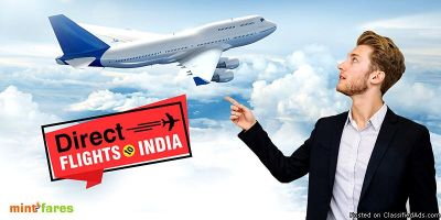 Take direct flights to India without any layover