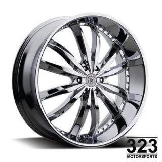 "Purchase 20"" INCH WHEELS RIMS SEVIZIA 427 CHROME 5 LUG CADILLAC CTS SRX STS CHLYSLER 300C motorcycle in Los Angeles, California, US, for US $725.00"