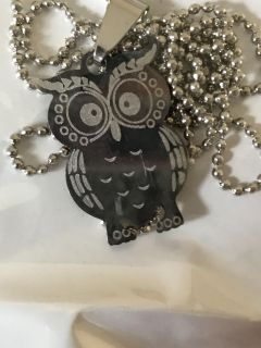 NEW Owl costume Necklace
