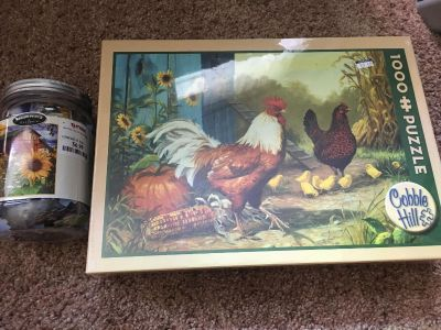2 NEW country themed puzzles