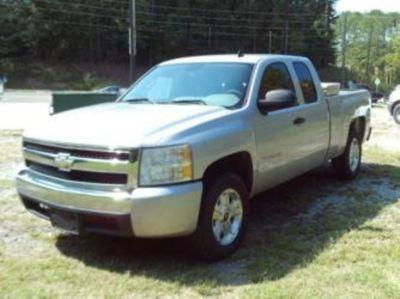 2007 Chevrolet Silverado 1500 Work Truck (Grey)