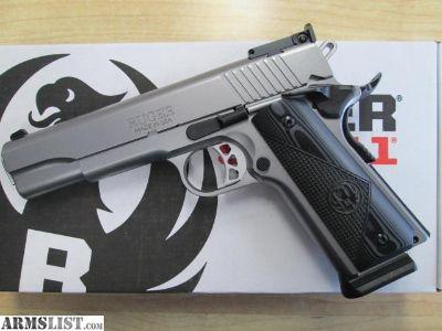 For Sale: Ruger SR1911 Target 45 - New - SALE