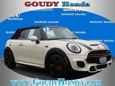 2017 MINI Convertible John Cooper Works (Pepper White)