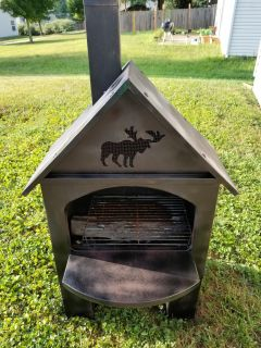 Metal firepit/outdoor grill