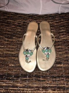 Italian Sandals size 8.5 great condition