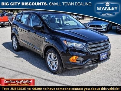 2018 Ford Escape S (BLACK)