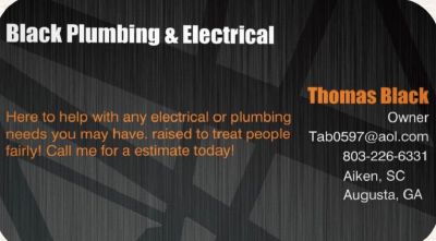 Blacks Plumbing & Electrical