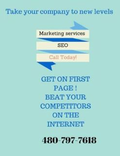 Internet marketing first page