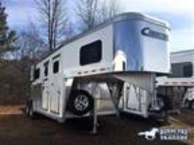 2020 Cimarron Norstar 2 Horse Straight Load Gooseneck 2 horses