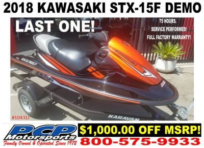 2018 Kawasaki Jet Ski STX-15F 3 Person Watercraft Sacramento, CA