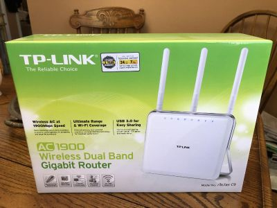 Dual band router