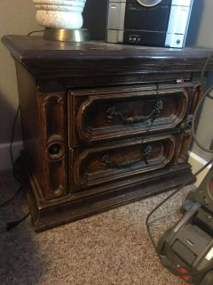 End Table with two Drawers