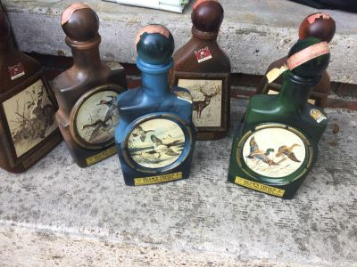 1970 Jim Beam Collectable Bottles - 6