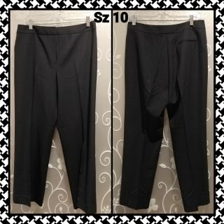 WOMENS BLACK CAREER PANTS SIZE 10