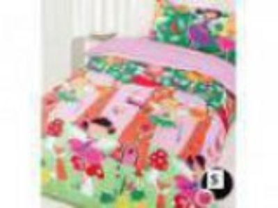 Happy Kids Single Quilt Cover Set - Fairy Tree
