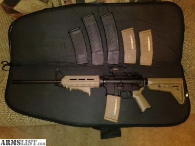 For Sale: Ruger AR 556 with Magpul upgrades