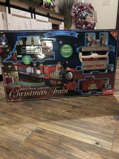 NEW North Pole Junction Christmas Train