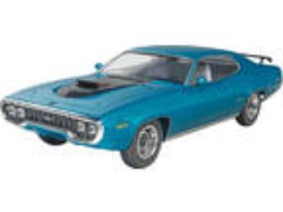 New Monogram 71 Plymouth GTX Six Pack Model Kit 854016