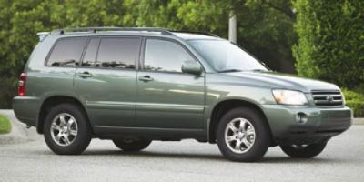 2006 Toyota Highlander Base (Salsa Red Pearl)