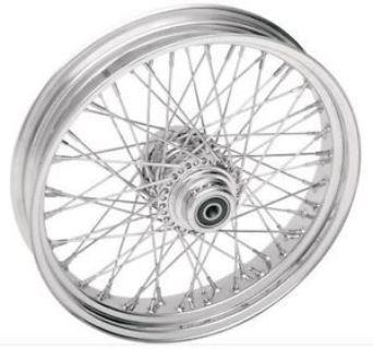Purchase Drag Specialties 60 Spoke Rear Wheel 18X3.5 Chrome (0204-0057) motorcycle in Holland, Michigan, United States, for US $869.95
