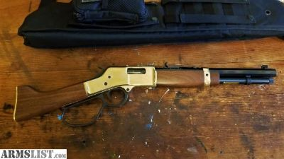 For Sale: .357/.38 Henry's Big Boy Mare's Leg (lever-action pistol)