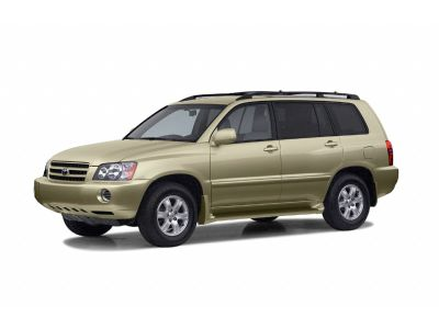 2003 Toyota Highlander Base (Bluestone Metallic)