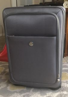 2 - Piece Joy Luggage with Cover - Gray